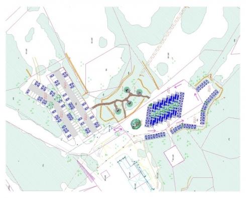 Načrt za ureditev parkirišč v Parku Škocjanske jame